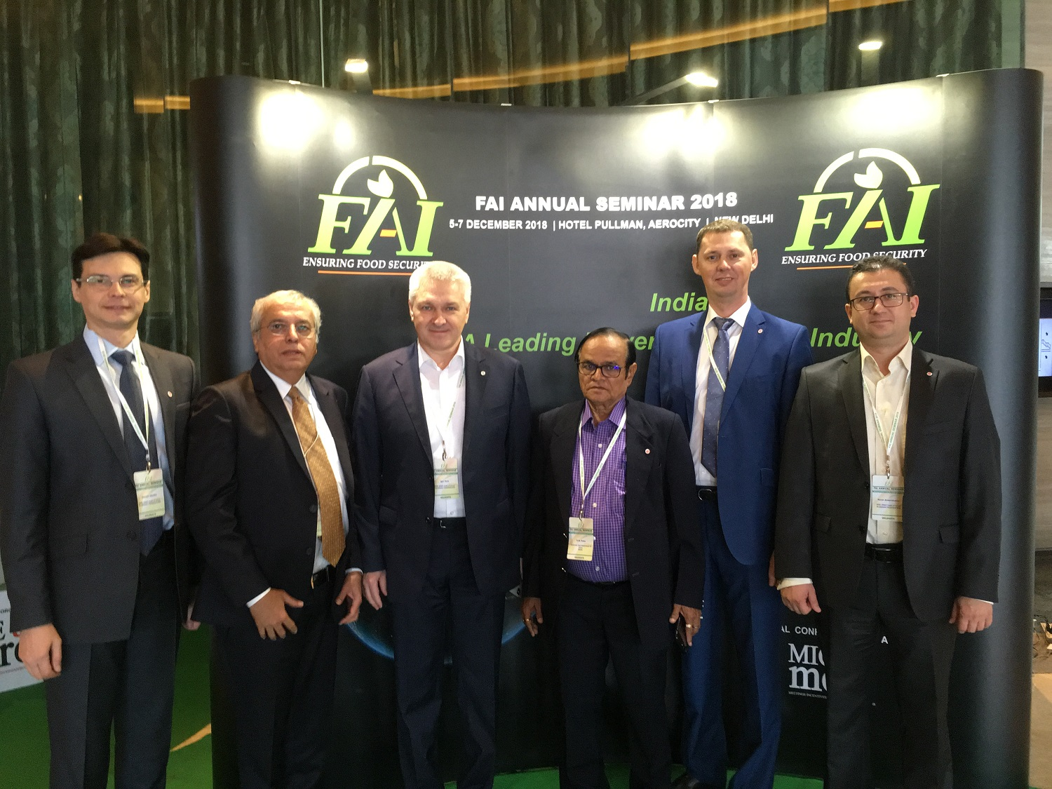 On December 5-7th, 2018, NIIK team headed by President and CEO Igor Esin attended FAI Annual Seminar 2018 held in New Delhi, India