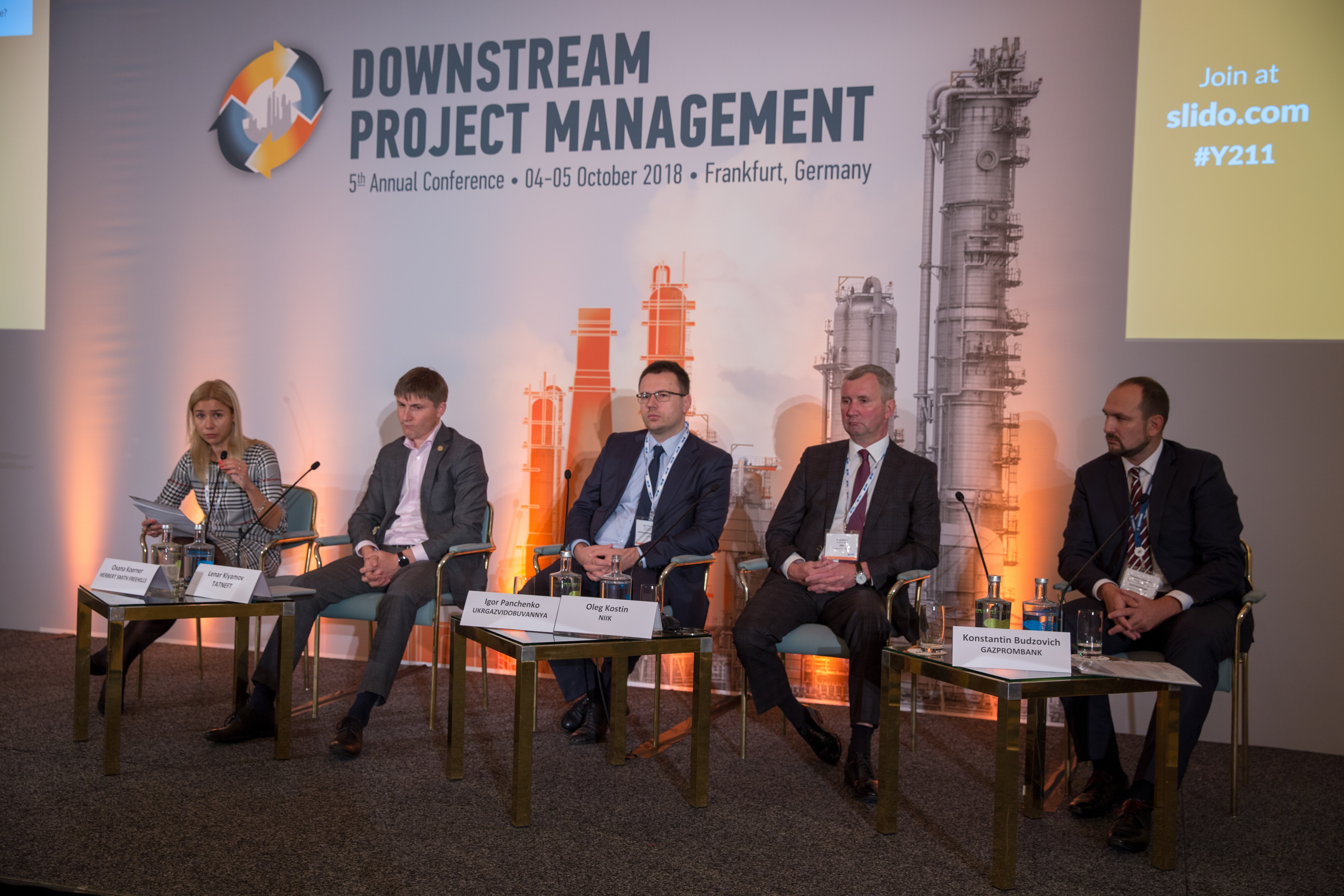 JSC NIIK`s general manager attended the conference «Downstream project management».