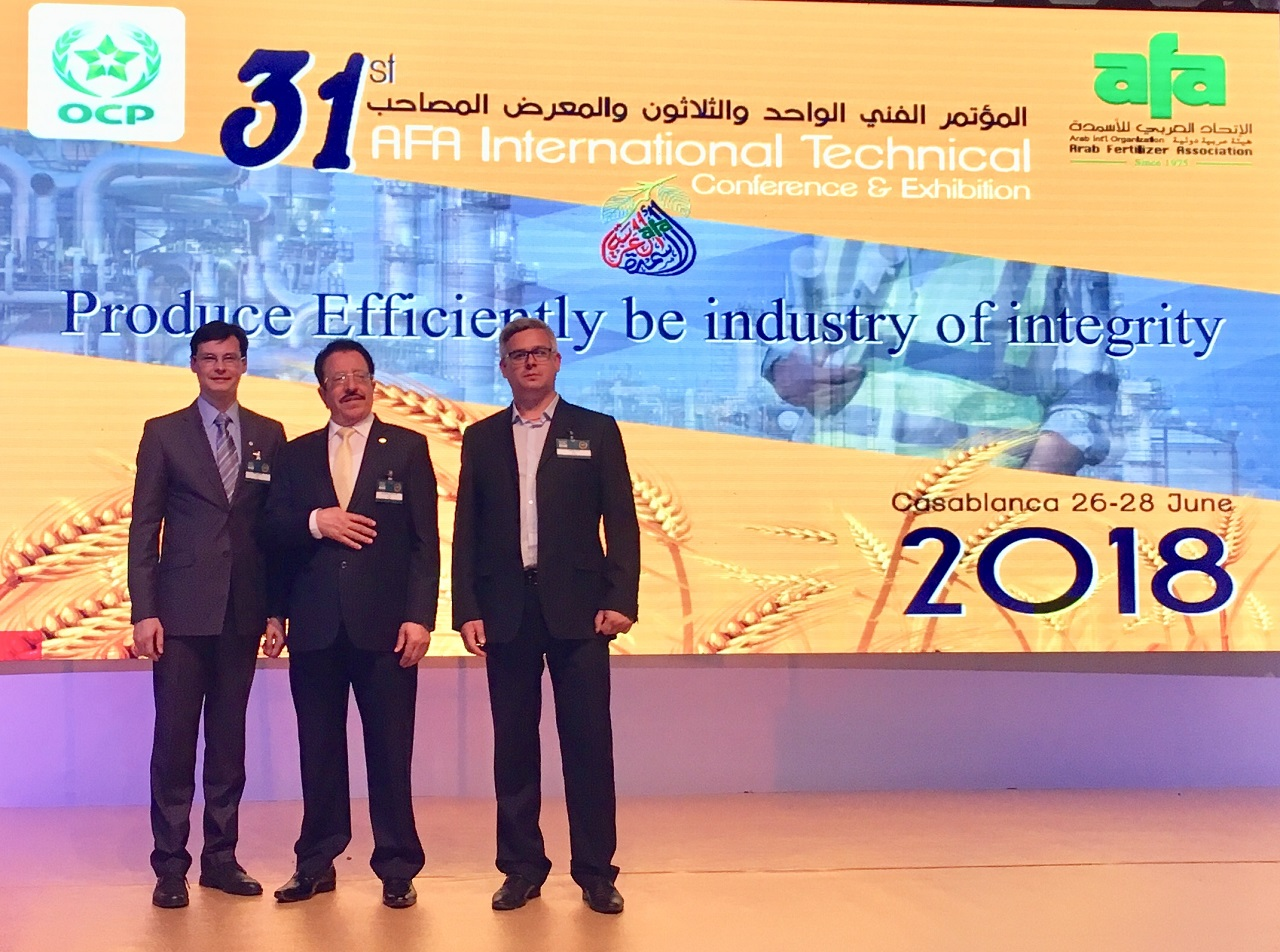 NIIK representatives took part in the 31st AFA International Technical Conference in Morocco