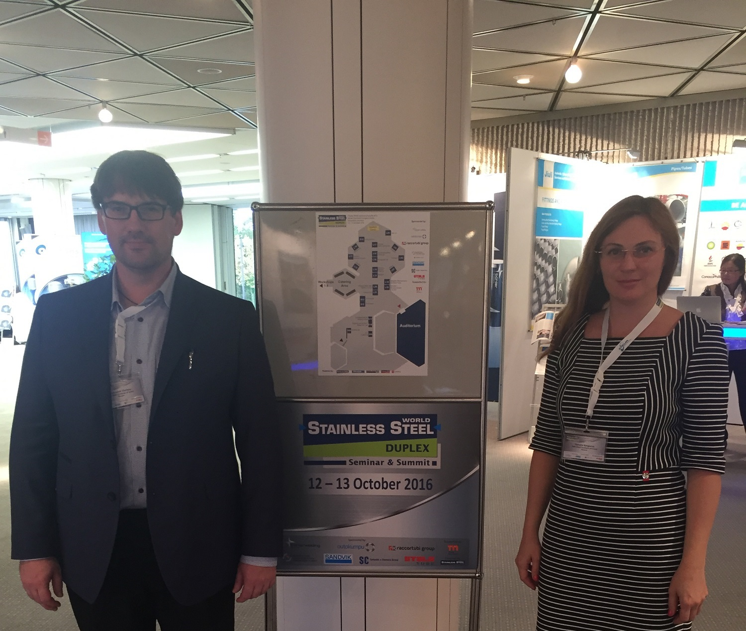 NIIK specialists participated in Duplex Stainless Steel conference taken place in Düsseldorf, Germany on 12th and 13th October.