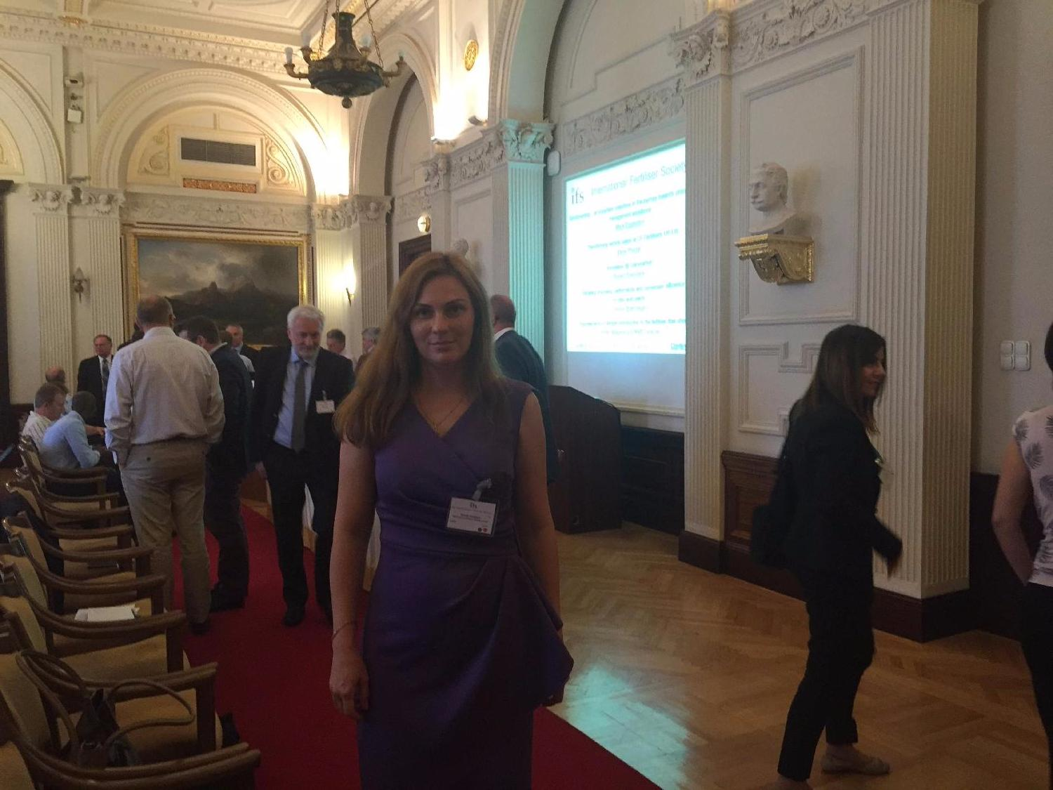 NIIK took part in IFS technical conference organized by International Fertilizer Society  in Hungarian Academy of Sciences in Budapest.