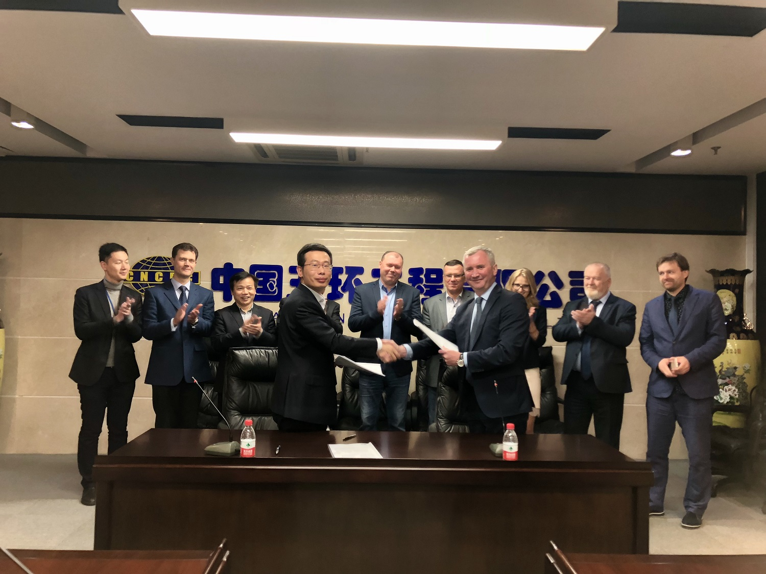 April, 11 NIIK and CHINA NATIONAL CHEMICAL ENGINEERING CO Ltd (CNCEC) signed a contract for the execution of the engineering works for ammonia-urea complex for Shchekinoazot