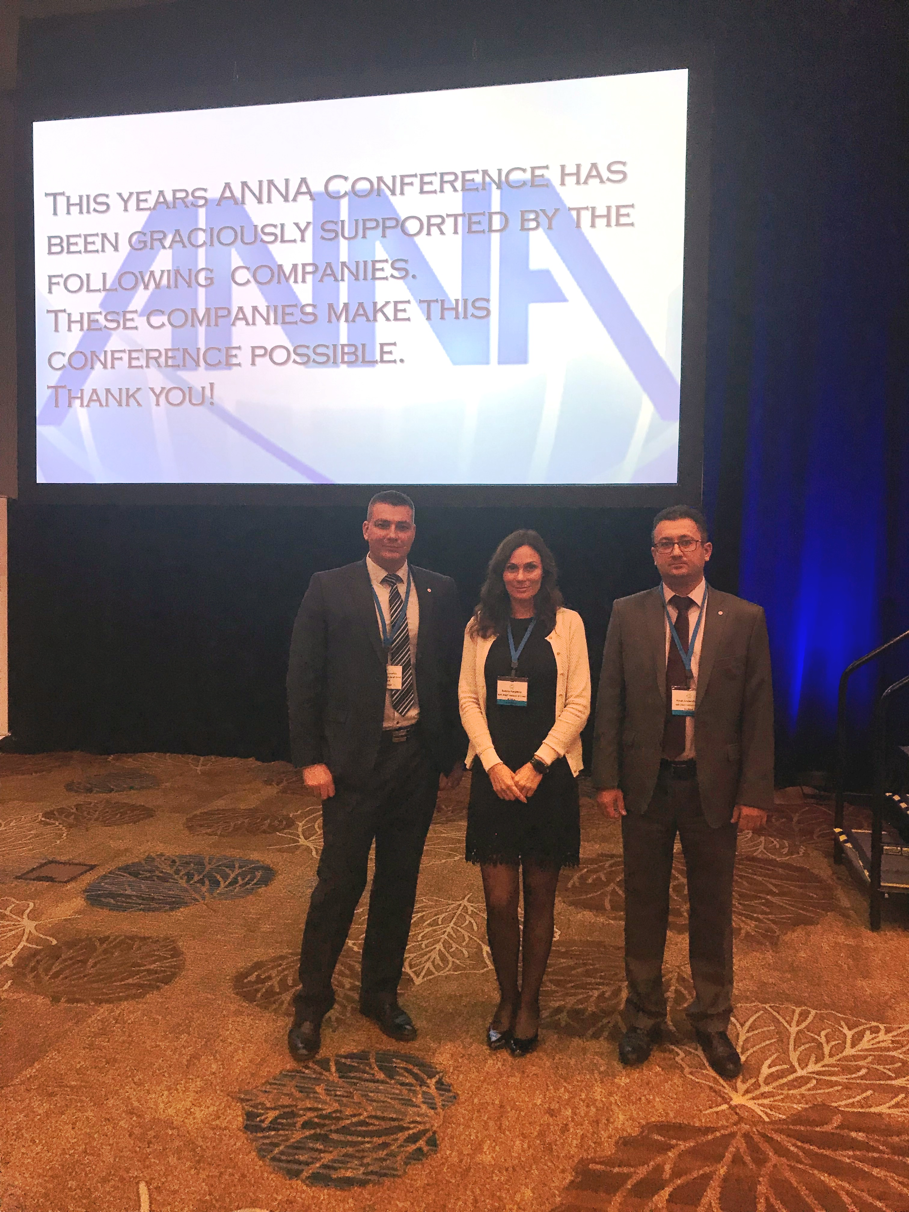 NIIK's delegation attended ANNA conference specified in Nitric acid and Ammonium nitrate.